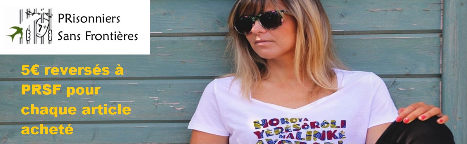 t-shirt collection liberté PRSF
