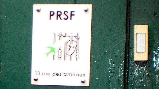 Le siège de PRSF - PRisonniers Sans Frontières