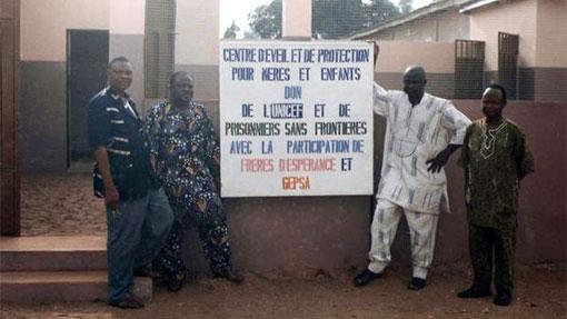 Photos de la Maison des mamans et des bébés à Abomey - PRisonniers Sans Frontières
